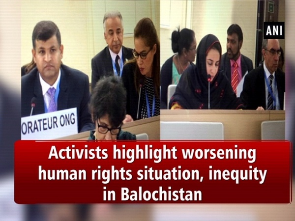 Activists highlight worsening human rights situation, inequity in Balochistan