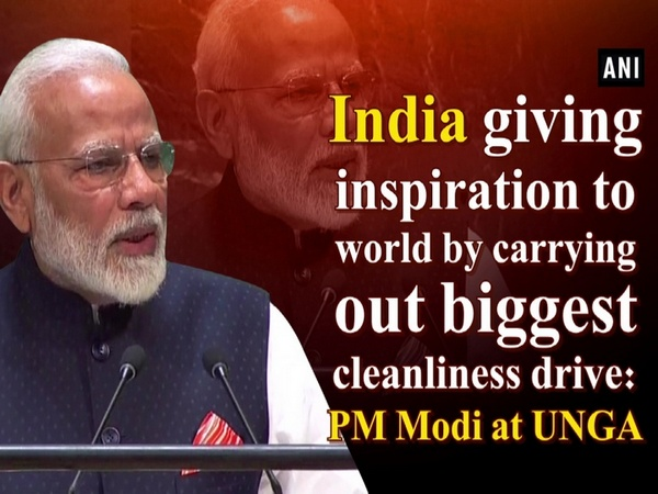 India giving inspiration to world by carrying out biggest cleanliness drive: PM Modi at UNGA